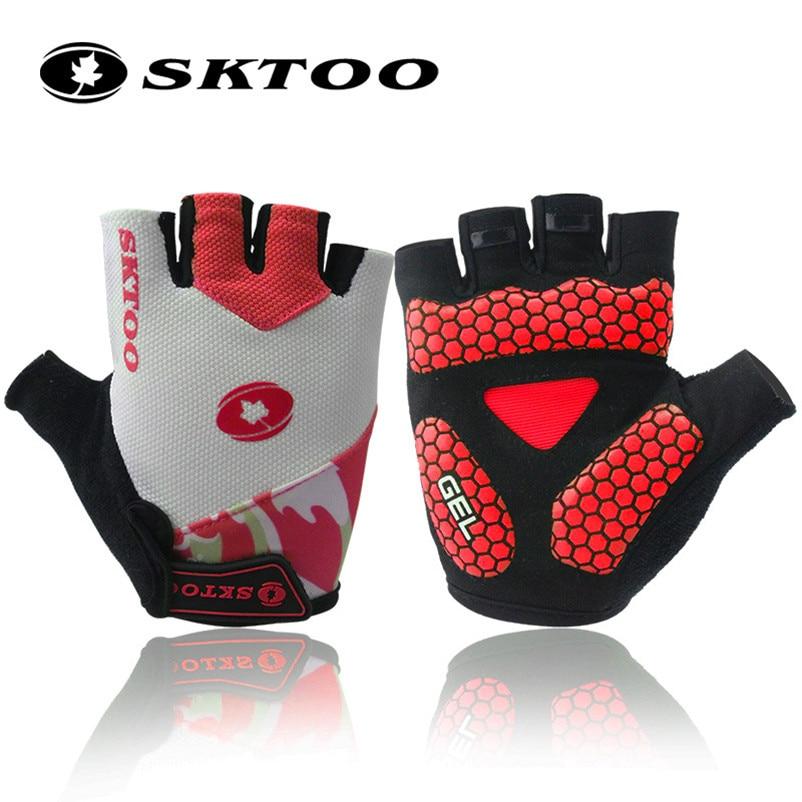 10 Pairs Lot SKTOO Cycling Gloves Half Finger Bicycle Bike Gloves Mountain MTB Shockproof Short Gloves