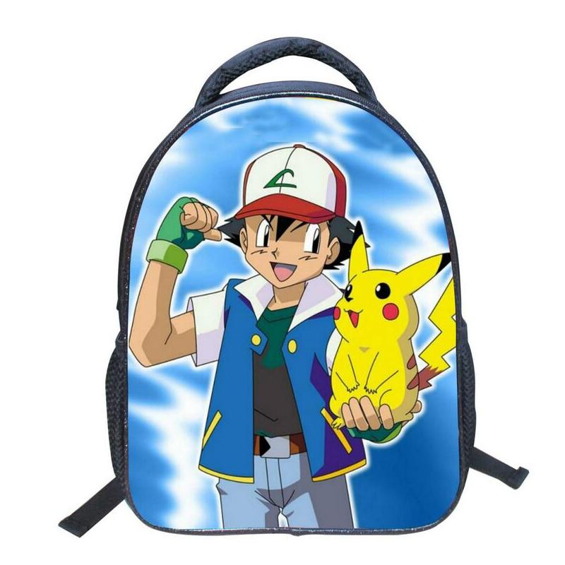 Fashion Game Pocket Monster Pokemon Backpack For Teenager Boy Girls Kawaii Pikachu Poke Ball School Bag Student Cartoon Backpack game boy картридж diskus