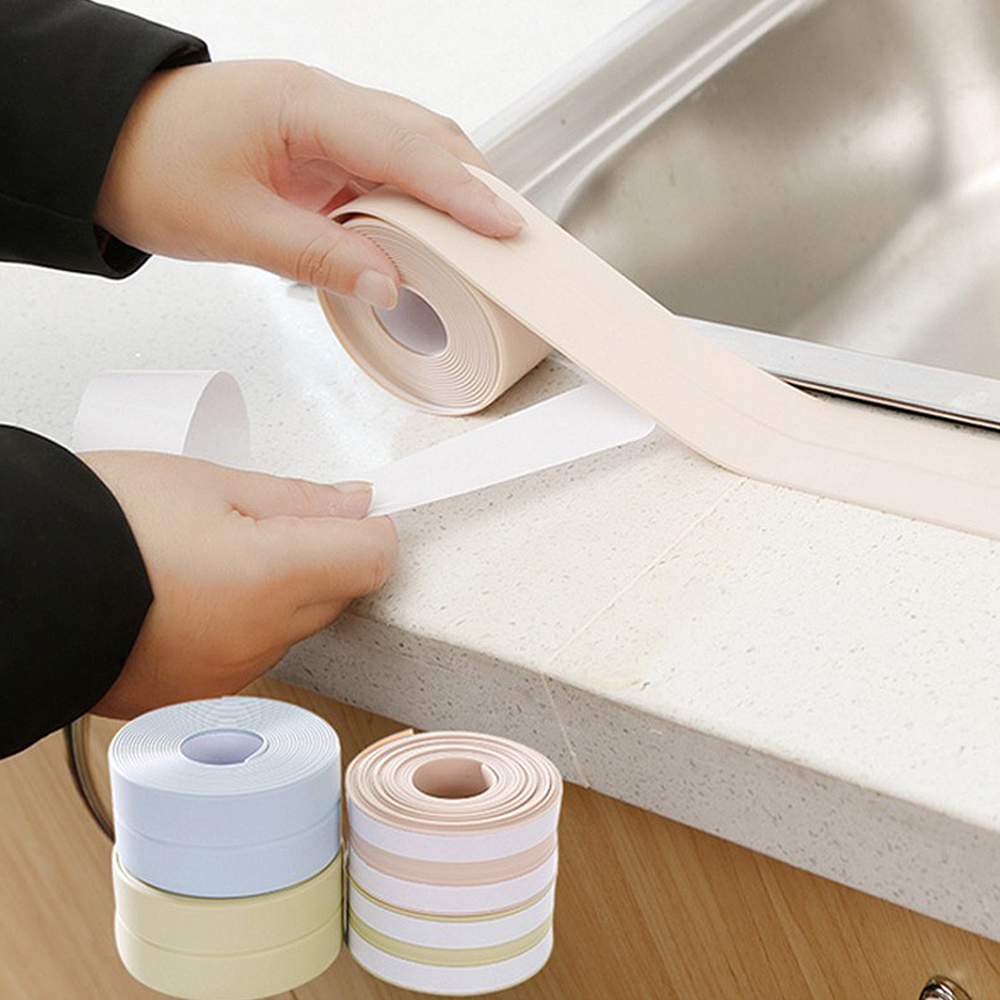 PVC Kitchen 3M Tape Waterproof Mildew Sink Gap Corner Tape ...