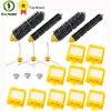 Replacement Part Kit For Roomba Bristle Brush Flexbile Beater Side Brush Hepa Filter For Irobot Roomba