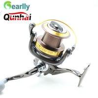 Gearlly جديد ماركة LDG8000-11000 qunhai غزل الصيد بكرة 13bb 4.6: 1 6bb كبير لعبة قارب المسافة الصب طلقة