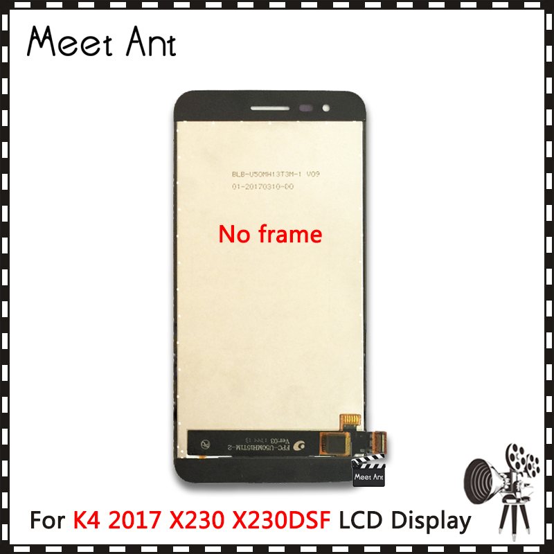 DHL 10Pcs/lot High Quality 5.0'' For <font><b>LG</b></font> K4 2017 <font><b>X230</b></font> X230DSF <font><b>LCD</b></font> Display Screen With Touch Screen Digitizer Assembly image