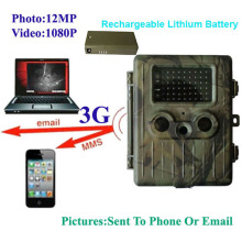 3G SMS Remote MMS Control/MMS/Email/GPRS Invisible Infraredlights Scouting Infrared Trail Hunting Camera