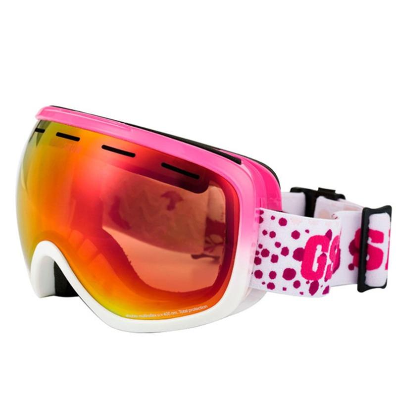 GSOU lunettes de Ski de neige pour hommes et femmes extérieur multicolore Snowboard lunettes hiver professionnel unisexe Ski de neige Sports verre - 5