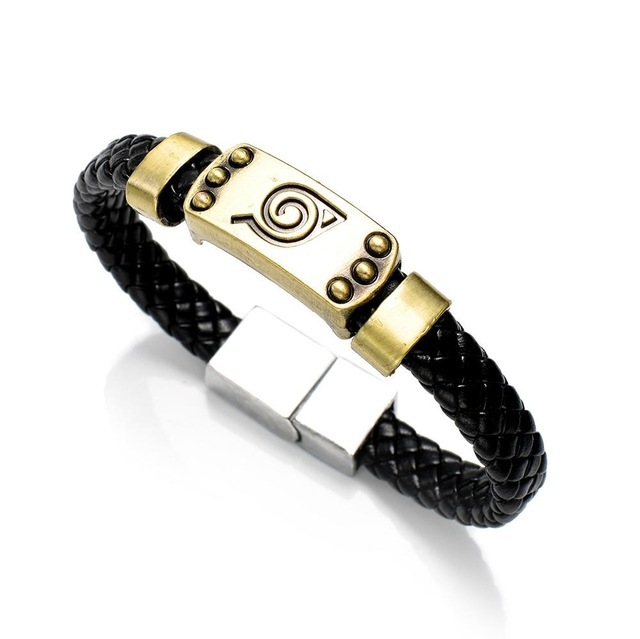 Leather braided bracelet Woven