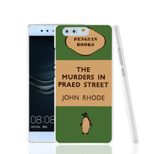 07154 penguin murders praed street cell phone Cover Case for huawei Ascend P7 P8 P9 lite Maimang G8
