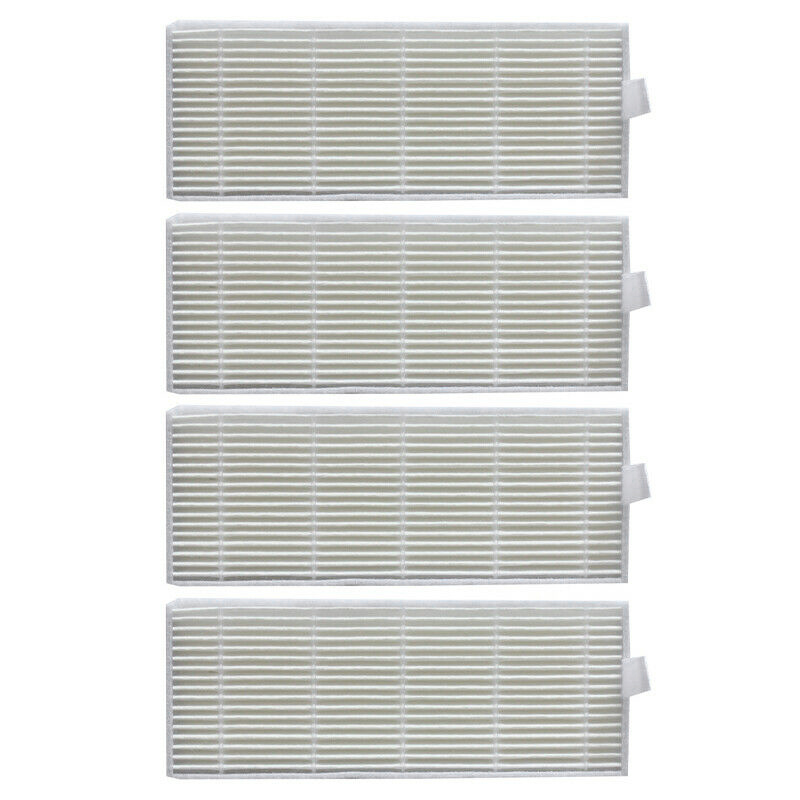 Hot!!! 4 Pieces Filters Replace For Conga Series 1290 Y 1390 Sweeper Machine Accessories