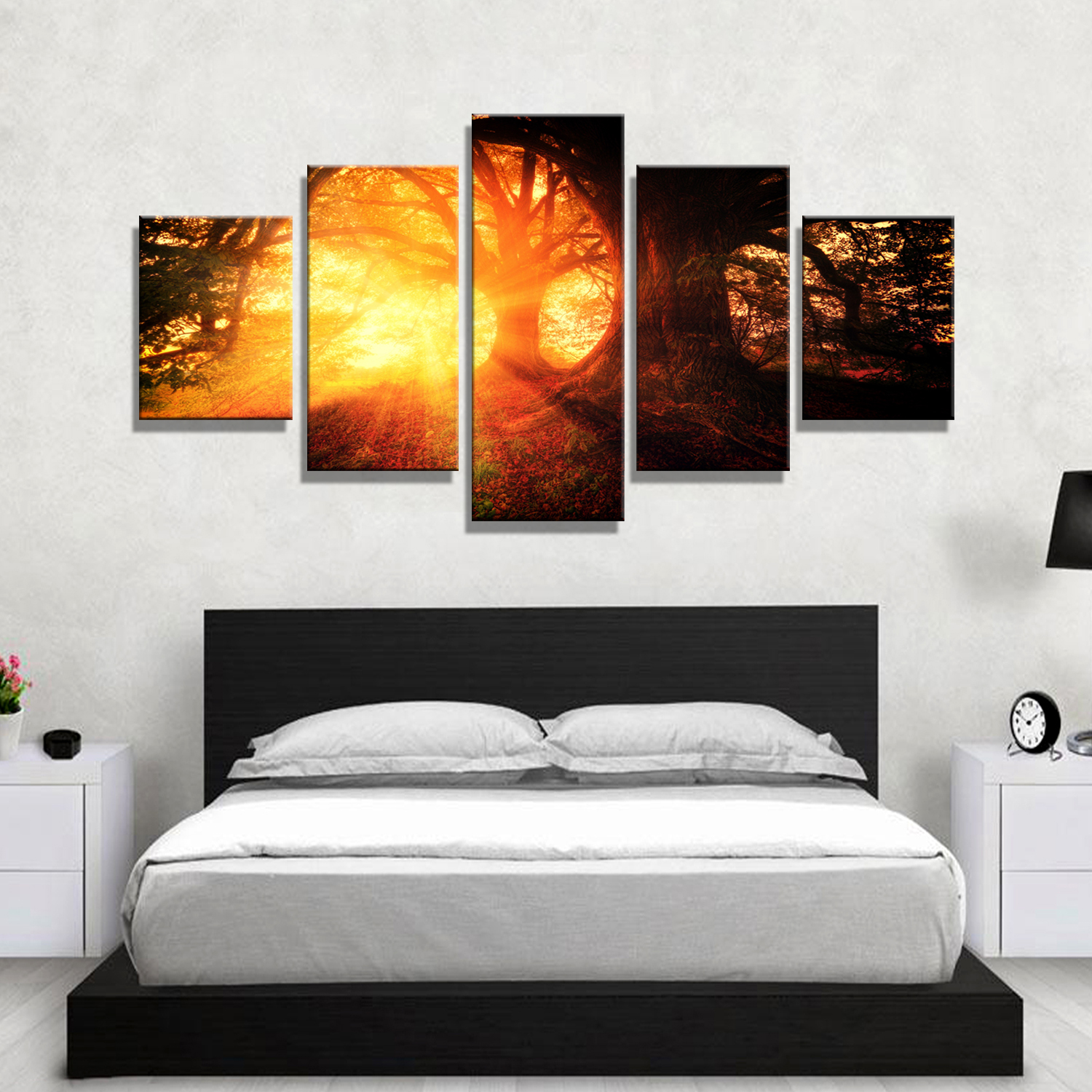 Dropshipping Decoration Drop Shipping Wall Canvas Art Home Painting Sunshine