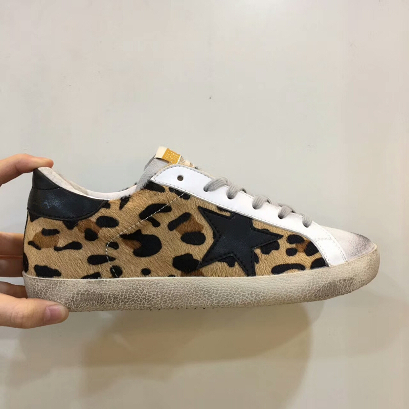 Detail Feedback Questions about Sexy Leopard Women Casual Shoes Sneakers  Shoes Women Flat Shoes New Leopard Print Do Old Dirty Shoes Retro Star  Casual ... 066a55e89d6f