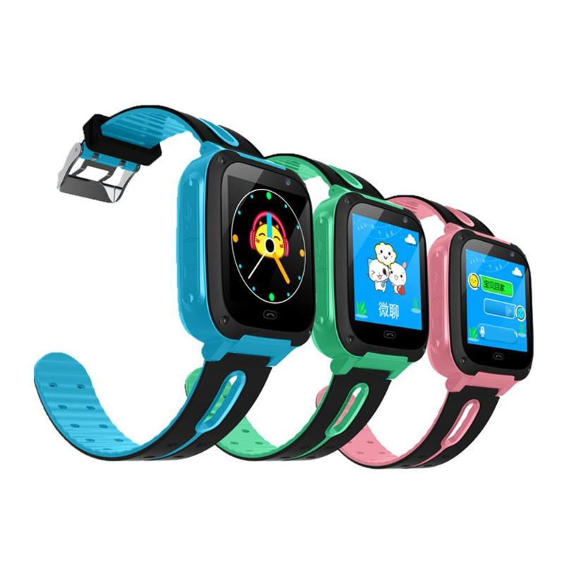 Fourth Generation Kids Smart Watch SOS Call Location Tracker Wristwatch Camera Phone for Android 3.0+ and IOS 6.0+