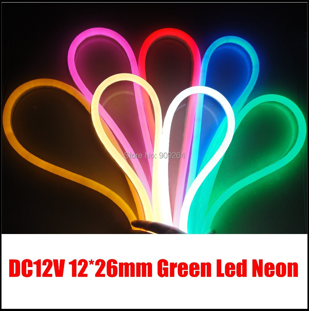 10m lot green led neon flex for outdoor light solution dc12v neon flex strip for channel letter. Black Bedroom Furniture Sets. Home Design Ideas