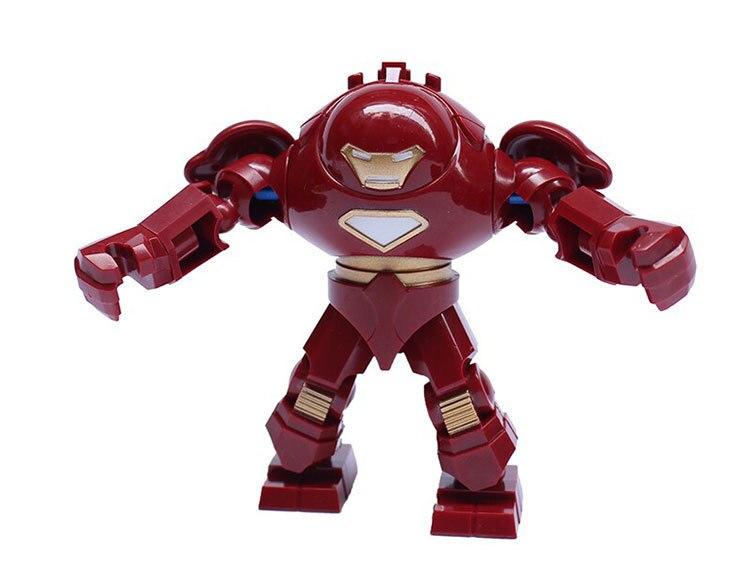 Comercio al por mayor 7.5 cm iron man Marvel Super Heroes Montar ...