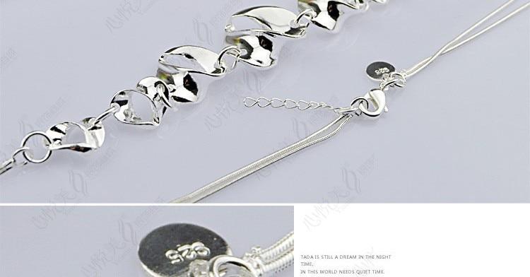 fashion perhiasan wanita kalung, padat asli 925 perak murni liontin - Perhiasan bagus - Foto 5
