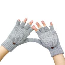 2016 Fashion Gloves Women Mitten Warmer Women Winter Glove Fingerless Gloves Female Girls Guanti iInvernali Donna Guantes Mujer