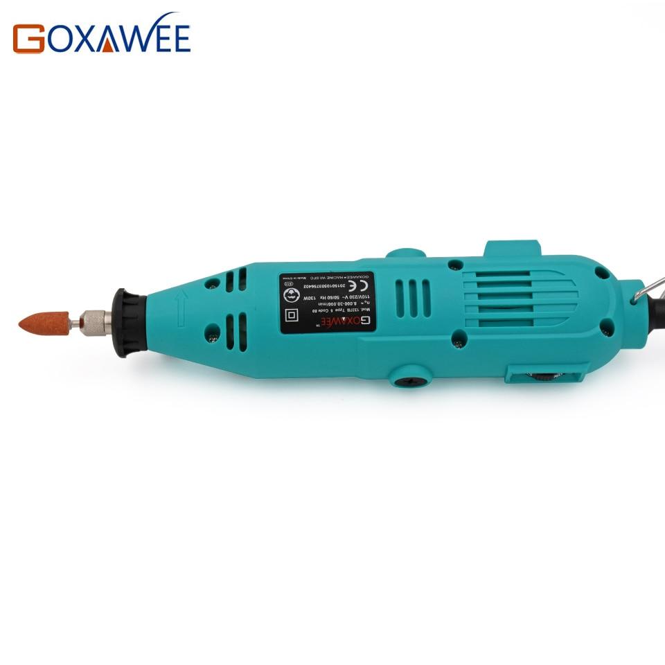 GOXAWEE 220V Mini Perceuse Électrique Outil Rotatif avec Arbre - Outillage électroportatif - Photo 2