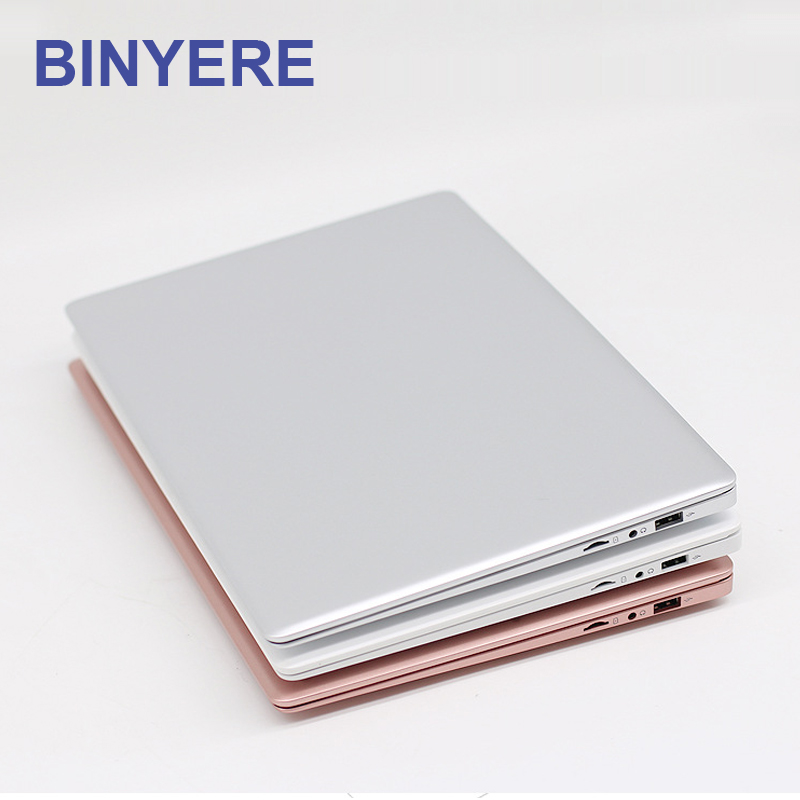 BINYEAE Ordinateurs Portables 14 pouces 2 GB RAM DDR3 32 GB MEM Notebook Intel Quad Core Z8350 Ultrabook Avec Corps En Métal bluetooth un Ordinateur Portable