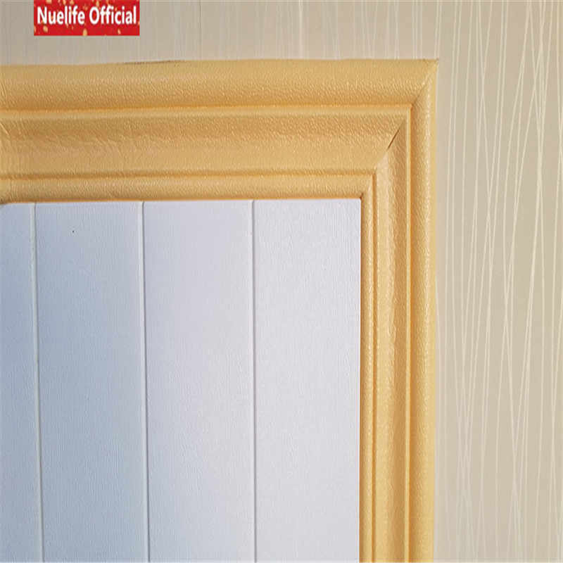 ff27688bf8 3d waistline ceiling decorative strip wall sticker edge stickers border  living room kids room waterproof baseboard wall sticker