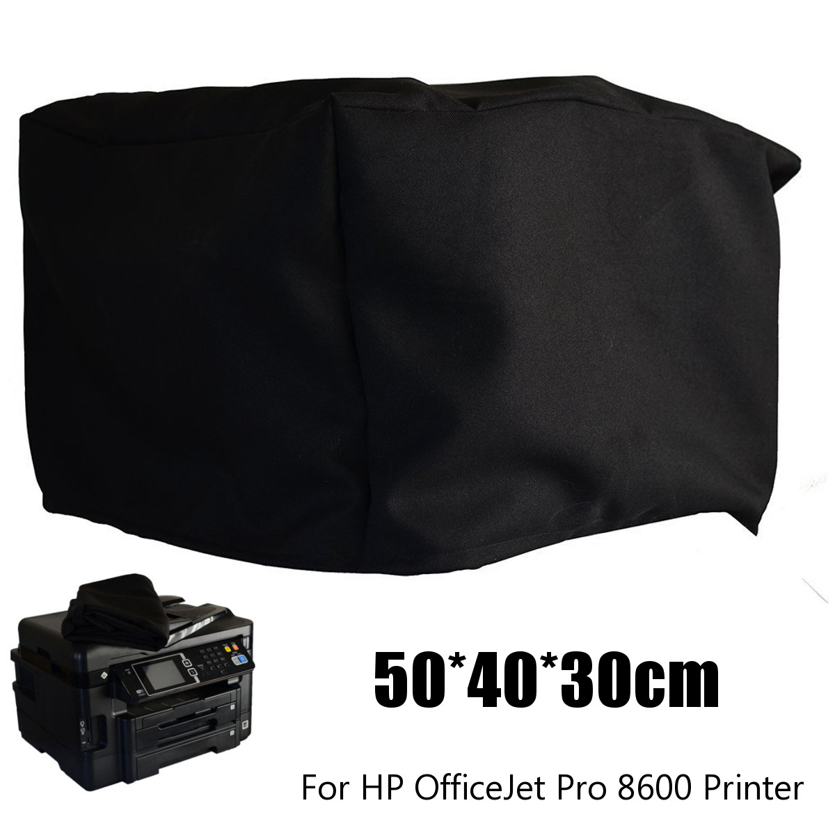 Protector Table-Cloth Chair Printer Nylon Officejet Dust for HP 50x40x30cm title=
