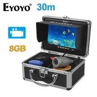 EYOYO Original 7 Full Silver Video Fish Finder 1000TVL 30M Underwater Fishing Camera Video Recording DVR