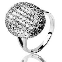 סאגת הדמדומים השחר מפציע בלה סוואן טבעת אירוסין טבעת נישואים טבעת אירוסין 925 כסף סטרלינג ירח החדש אקליפס