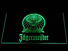 Germany Advertising light Led Logo Jagermeister Deer LED Neon Sign Night Light Decorative luminaria