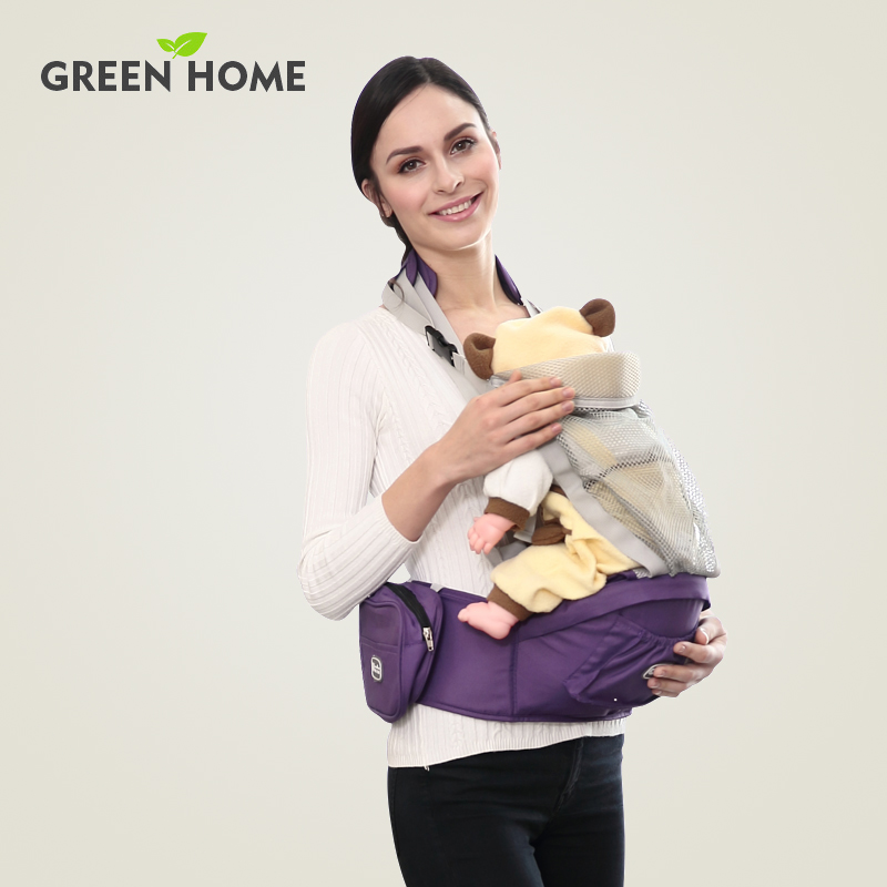 0-36 Months Green Home multifunctional belt Back Carry baby suspenders sling Front Facing baby Backpacks and Carriers