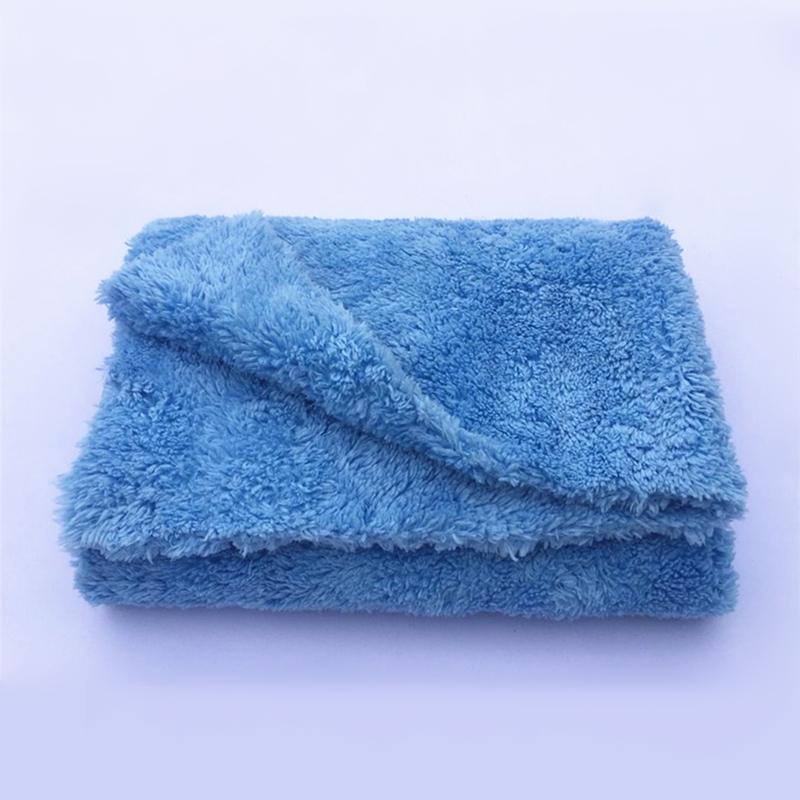 "Ultra Thick-450GSM Edgeless Microfiber Cloth 16""X16"" No Edge Premium Detailing Towel For Polishing, Buffing, Finishes, Car Wash"