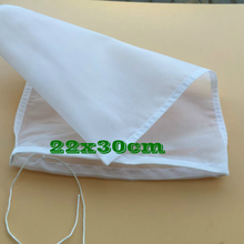 Fine Mesh 22X30cm High Density 75 Micron Nylon Filter Bag 5pcs/lot For Home Brew Hops Adding Cold Coffee