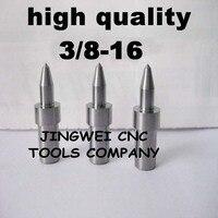 Hohe qualität hartmetall fluss drill America system UNC 3/8-16 (8,7mm) rund, form bohrer für edelstahl