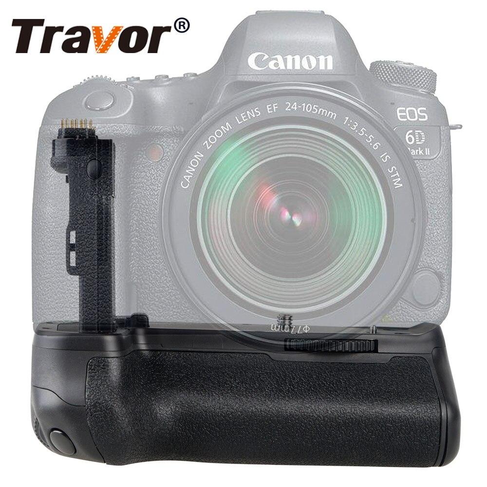 Travor Vertikale Batterie Griff Halter Für Canon 6D Mark II 6D2 DSLR Kamera ersatz BG-E21 arbeit mit LP-E6/LP-E6N batterie