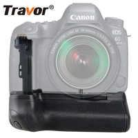 Travor Vertical Battery Grip Holder For Canon 6D Mark II 6D2 DSLR Camera replacement BG-E21 work with LP-E6/LP-E6N battery