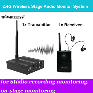 Image 2 - TP wireless In Ear Monitor System 2.4GHz Professional Digital Stage Audio Stage music Ear Return Stage