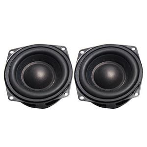 Image 4 - 2 pièces 2 POUCES 52 MM Haut parleurs de Gamme Complète de 4 Ohm 10 W Passionné bricolage Plat Arc En Caoutchouc Bord Haut Parleur bricolage HIFI Haut parleurs Bluetooth
