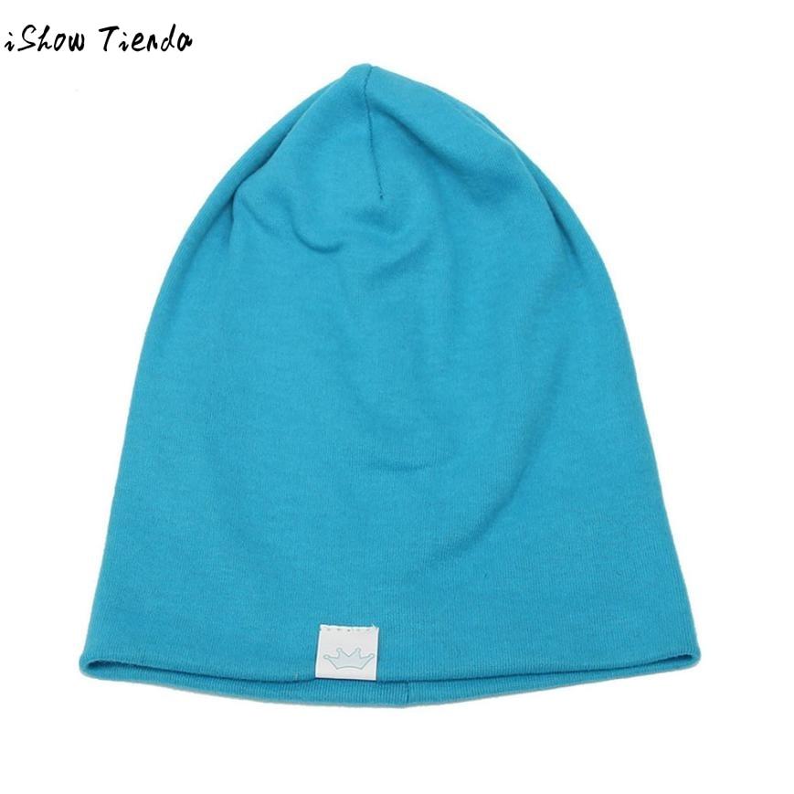 f3f8c5039c62 Solid Baby Winter Hat Bonnet Enfant Kids Baby Boy Girl Infant Cotton Soft  Warm Hat Beanie Toca Infantil  1102-in Hats   Caps from Mother   Kids on ...