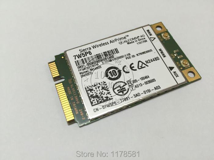 DW5570 07W5P6 Sierra MC8805 4g HSPA + WWAN Haut Débit Mobile Carte pour E5440 E6440 E6540 E7240 E7440 M4800 M6800