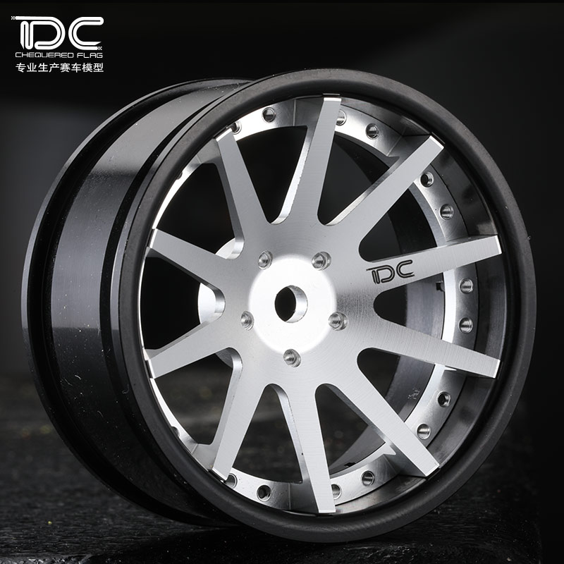 DC FOR 1/10 SCALE RC DRIFT CAR ALLOY WHEEL HUB (S10 Type