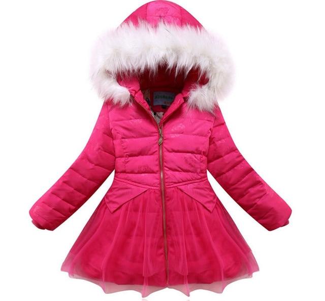 acca4413d 2017 new in winter Children Down Jacket Girls White Duck Down Coat ...