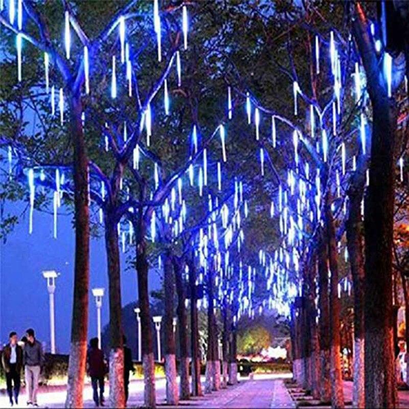 Solar powered string luzes de natal ao
