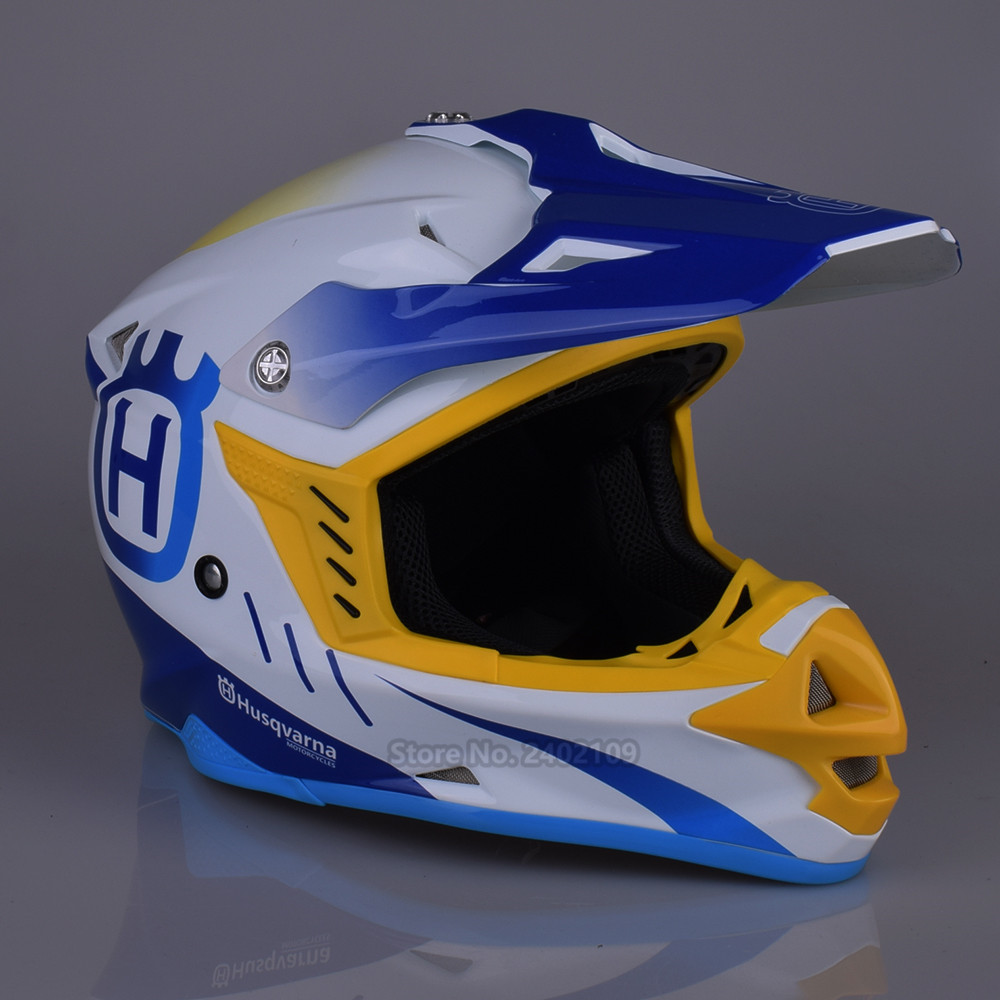 HUSQVARNA Motocross Helmet Off Road Professional Rally Racing Helmets Men Motorcycle Helmet Dirt Bike Capacete Moto casco стоимость