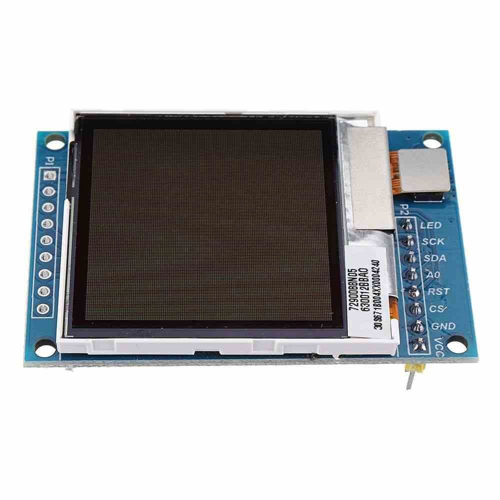 Nouveau 1.6 pouces transflectif TFT LCD Module d'affichage 130x130 lumière du soleil Visible Port série SPI 3.3V 5V pour Arduino