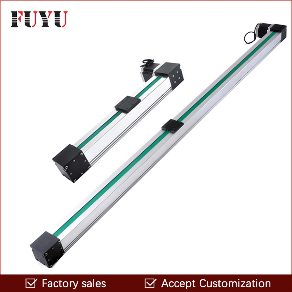 Free shipping 700mm stroke belt drive linear guide slide table Nema34 motor for cnc fast movement system 8055i cnc 8055i a m fagor key button membrane for cnc system fast shipping