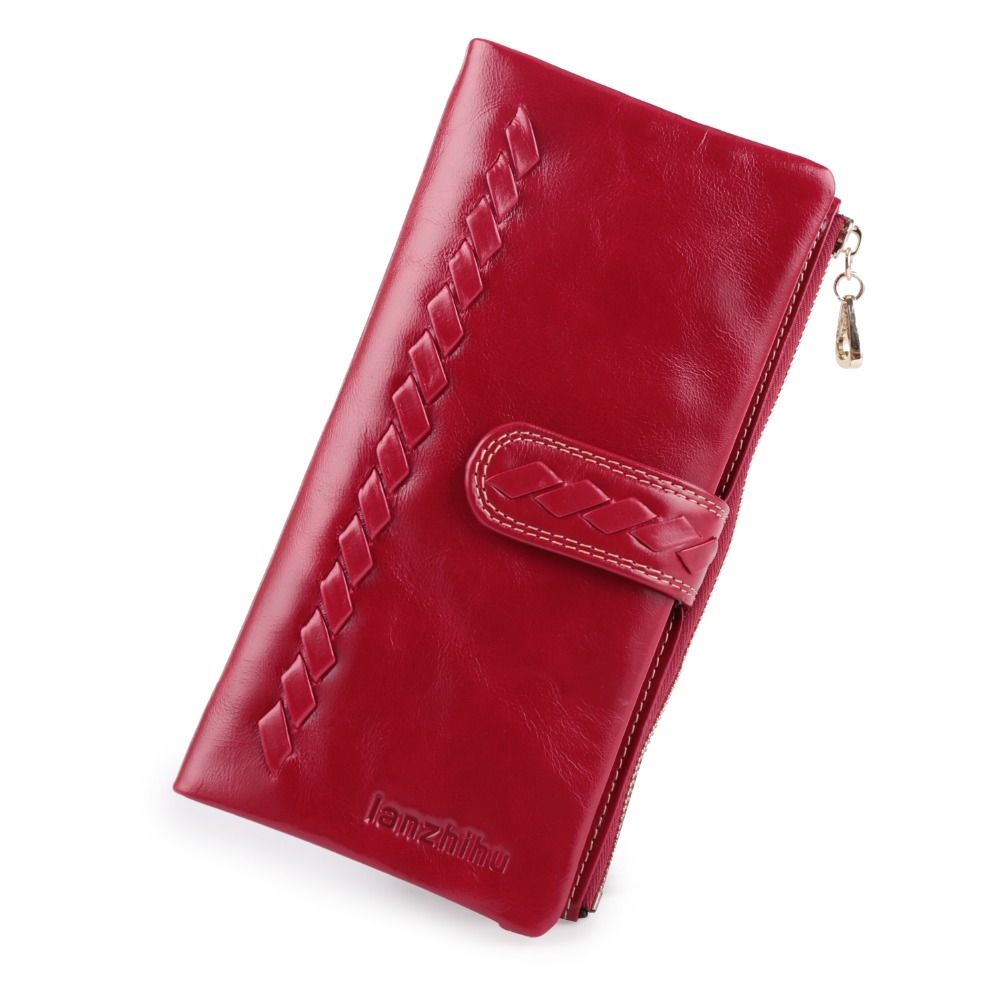 2017 NEW Genuine Cow Leather Wallet Women Long Cowhide Leather Zipper Female Woven Design Purse Ladies Clutch Card Phone Holder недорго, оригинальная цена