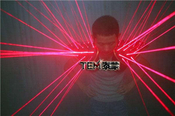 Еркін тасымалдау Red Laser Suit, LED Vest, Laser Show - Мерекелік және кешкі заттар - фото 4