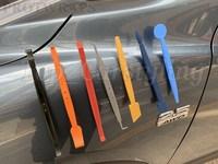 2019 Hot SALE Magnetic Squeegee Tools Kit Car Sticker Tints Headlight Film Carbon Magnetic Scraper Tool PROTWRAPS