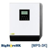 MPS 3K 3KVA чистая синусоида гибридный инвертор с солнечной зарядное устройство контроллер MPPT 24VDC вход 220VAC выход ROHS CE UL SAA ISO9001