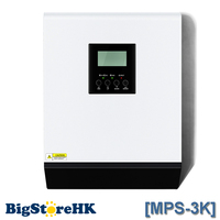 MPS 3K 3KVA Pure Sine Wave Hybrid Inverter with MPPT Solar Charger Controller 24VDC Input 220VAC Output ROHS CE UL SAA ISO9001