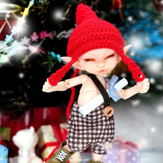 OUENEIFS Fairyland Realpuki Kaka Doll bjd SD 1/13 Model