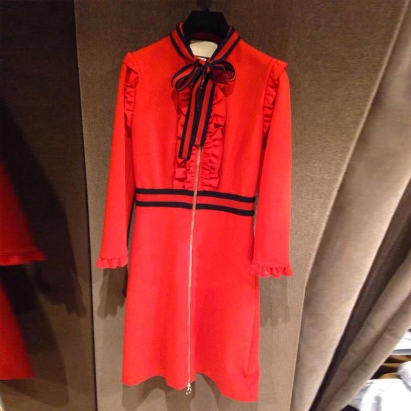 Ecombird Σέξυ φόρεμα με φόρεμα με κόκκινο - Γυναικείος ρουχισμός - Φωτογραφία 3
