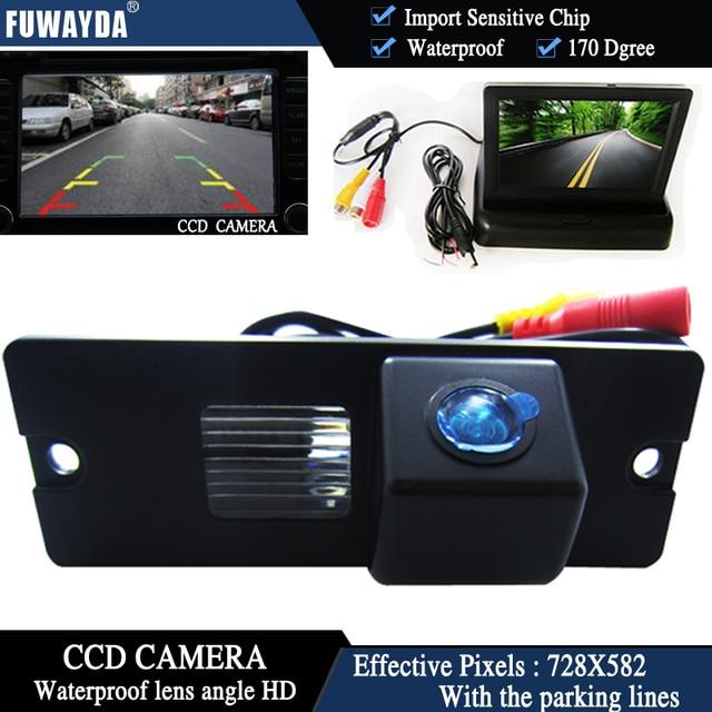 FUWAYDA Color CCD Chip Car Rear View Camera for Mitsubishi Pajero V3