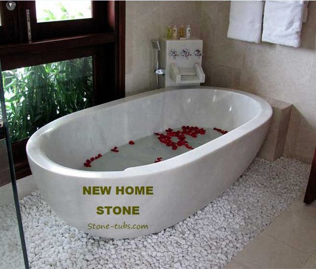 US $3980 0 |Cultured Marble Tub surround White Marble Hand Carved stone  bathtubs Highly Polished inside & rim with polished outside bathtub-in